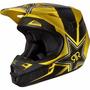 Capacete Fox V1 Rockstar Race Trilha Motocross A Sw - Size M
