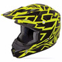 Capacete Fly Kinetic Blocks Out Size G 59-60cm Trilha Enduro