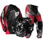 Kit Conjunto Motocross Colete Calça Camisa Insane Pro Tork