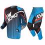 Calça + Camisa Asw Image Starway Conjunto Motocross Trilha