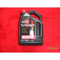 Lubrificante Motul 10w40 4100 Turbolight Oleo De Motor Espec