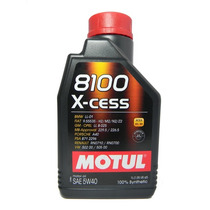 Óleo Motul 8100x-cess 5w40 100% Sintétio (1 Litro)