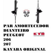Amortecedor Dianteiro Peugeot 206 207 Kayaba 1.0 1.4 1.6