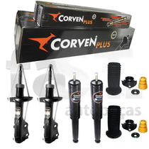 4 Amortecedores Corven New Civic Si 2.0 16v + Kit Suspensão