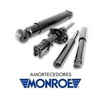 Kit 4 Amortecedor Monroe + Kit Batente Axios Fit Até 08