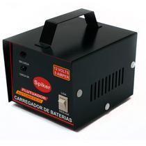 Carregador Bateria 12v5a Carro E Moto Automatico Inteligente