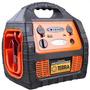 Auxiliar De Partida + Compressor De Ar + Carregador Bate220v