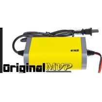 Carregador De Bateria Automotiva 12 V Com Led Indicador 64hz