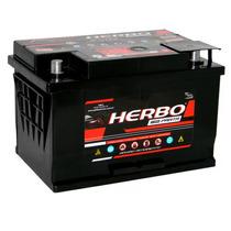 Bateria 60 Amperes Herbo Com Prata E Visor