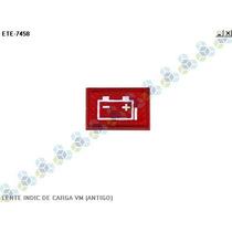 Lente Painel Indicador Carga Bateria Vermelho (antigo)