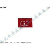 Lente Painel Indicador Controle De Carga Bateria Vermelho