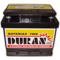 Bateria Carro Duran 45ah 12v Sem Manutencao Com Visor Carga