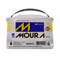 Bateria Moura 60 Amperes - 18 Meses De Garantia - Com Nf