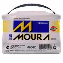 Bateria Moura 60 Amperes Envio Somente P/sao Paulo E Abcd