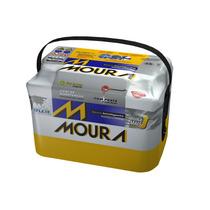 Bateria Moura 75ah Positivo Lado Direito M75ld