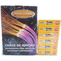 Kit Ngk Maxicabo (vela+cabo) Omega Australiano 3.8v6 99 A 04