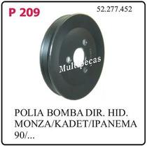P209 Polia Da Bomba De Direcao Hidraulica Gm Monza Kadett