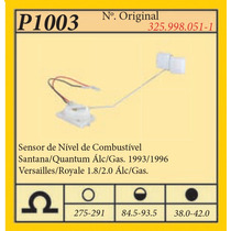 Sensor De Nivel Combustivel Versailles 1.8/2.0 Alcool/gas