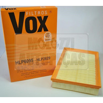 Filtro Ar Vw Gol/parati 1.0 16v/power 08.01/ - Golf 1.6 8v 0
