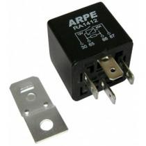 Rele Auxiliar 4 Terminais 12v 40 Amp C/suporte 10 Peças Novo