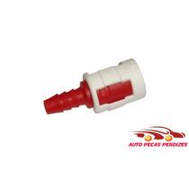 Conector Engate Rapido Gasolina Eng Mang Nylon 8mm 8mm