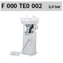 Cj Bomba Combustível F000te0002 Bosch Gol Parati 1.0 8v 16v