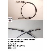 Cabo Acelerador Ford Ranger Diesel 2.5 / 2.8 97 98 99 00 01