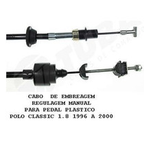 5035 Cabo De Embreagem Polo Classic 1.8 Mpi 99cv Reg. Manual