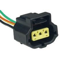 Chicote Conector Plug Regulador Voltagem Fiesta Ka Courier ®
