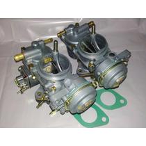 Carburador Fusca Itamar Dupla 1600 Revisado Gasolina