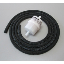Fusca - Kit De Mangueira E Filtro Originais De Combustível.
