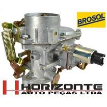 Carburador Fusca 1300 Solex Brosol Original Novo