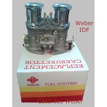 Weber 40 Idf Novo + Coletor De Admis. Gasolina Opala 6cc