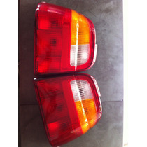Par Lanterna Traseira Do Logus 92 96 Tricolor