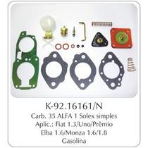 Kit Carburador Fiat Uno - Gm Monza Brosol Completo