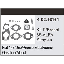 Kit Carburador Fiat Uno - Gm Monza Brosol