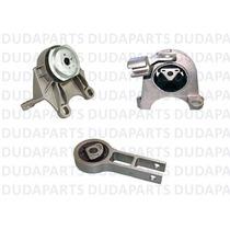 Kit Completo Calço Coxim Câmbio Motor Stilo 8v 16v - 1ªlinha