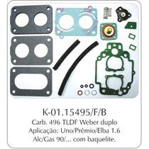 Kit Carburador Fiat Uno/premio/elba Weber 495
