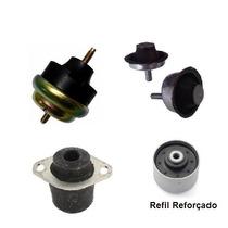 Kit Completo Calço Coxim Motor Câmbio 206 207 Hoggar - Novo