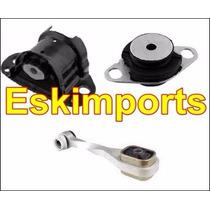 Coxim Motor E Cambio Clio 1.0 16v Kit Completo