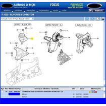 Coxim Direito D Motor Focus Zetec 1.8 E 2.0 16v De 00a0