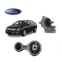 01 Kit 2 Coxim Motor Calço + Cambio Ford Fusion 2.3 16v 2006