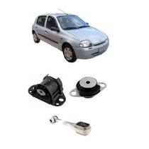 Kit Calço Coxim Motor Completo Clio 1.0 8v 16v Novo