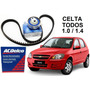 Kit Correia Dentada Acdelco E Tensor Original Gm Celta