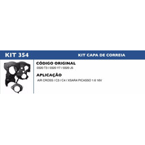 Kit Capa Correia Dentada Citroen Xsara Picasso 1.6 16v - 354