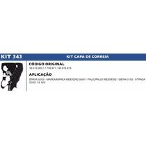 Kit Capa Correia Dentada Palio Weekend 1.6 16v 2001 À 2003