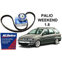 Kit Correia Dentada Acdelco Tensor Original Gm Palio Weekend
