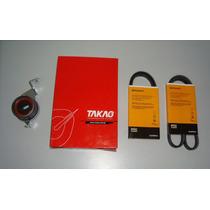 Kit Tensor + 3 Correias Mitsubishi Pajeiro Tr4 2.0 16v