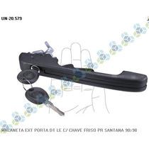 Maçaneta Externa Esquerda Santana 90/98 - Universal