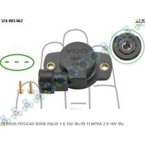 Sensor Borboleta Palio Weekend 1.6 16v Gasolina 96/96 - Vdo